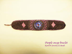 Purple Swap Bracelet