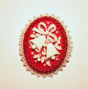 Lucite Julklockor